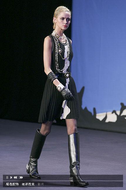 Chanel 香奈儿巴黎时装发布会走秀 服装图库 重庆服装网