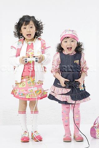 韩国curlysue品牌童装 搭配时尚魅力